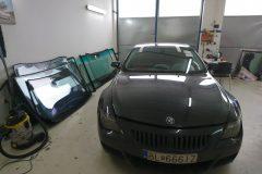 BMW 635 - výmena čelného skla