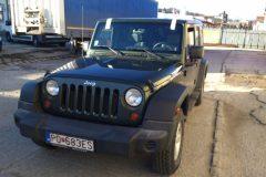 Jeep Wrangler - výmena čelného skla
