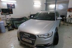 Audi A6 Allroad - výmena čelného skla