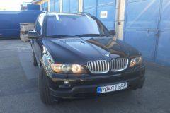BMW X5 - výmena čelného skla