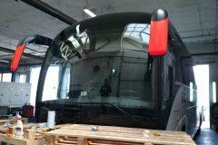 Iveco Crossway - výmena čelného skla